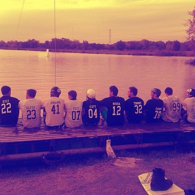 #teamwork ! #wakeboarding @barc