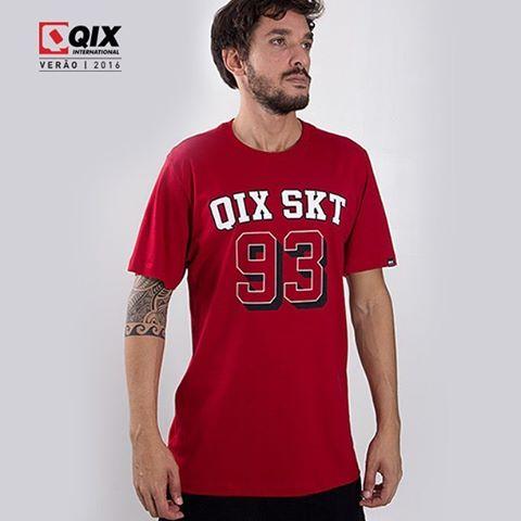 Camiseta QIX Special - Verão 16. Disponível nas lojas de todo o Brasil.