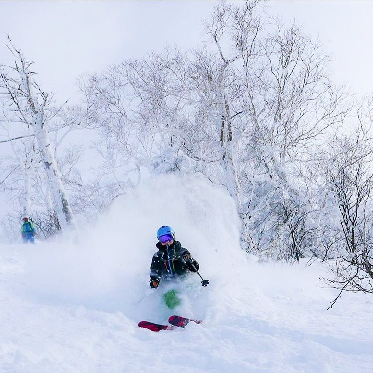 Who needs some more #powder in their life? @thirtypercentmischief found the stash in #Japan! #sisterhoodofshred #skiing #snow #japow (Planning a trip, check out www.speakjapaneseandshit.com)