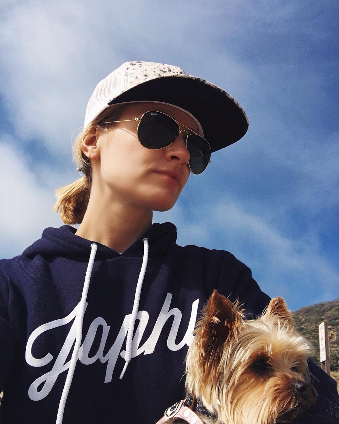 Honorary crew member and all around B-A @bethbehrsreal rocking her Japhy threads and soaking up sun with her partner in crime this past weekend.  @japhysurfco #japhysurfco #japhycrew #japhypup #surf #surfing #CA #classic #beachnik #beachbum #nofilter...