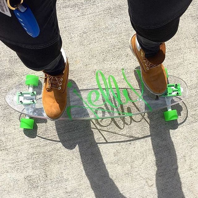 stay #fresh yo! #jellyskateboards #jellymanowar #blockrisers #skateboard #longboards #clearinnovation #timberland | #repost @ap_0701_