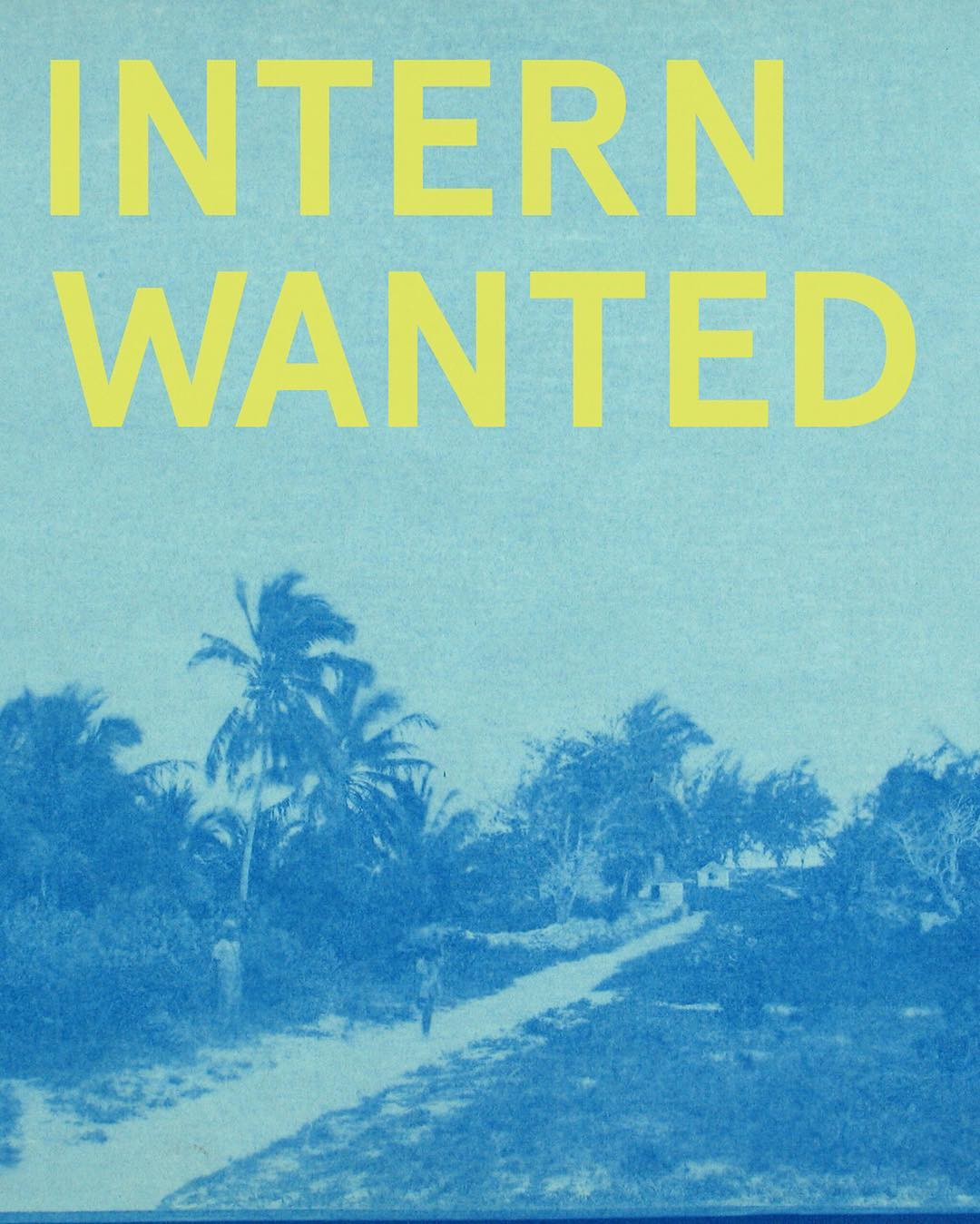 We're looking for an intern to help out with various projects we have coming up. Must be based in LA/OC and will work for