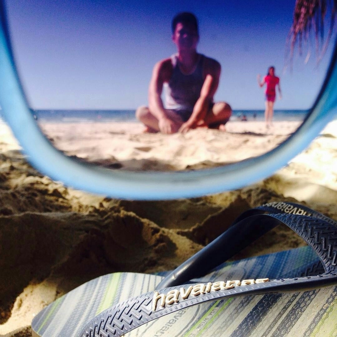 #TôDeHavaianas  #HavaianasMoment #VoyConHavaianas #beach @ianrhemzy