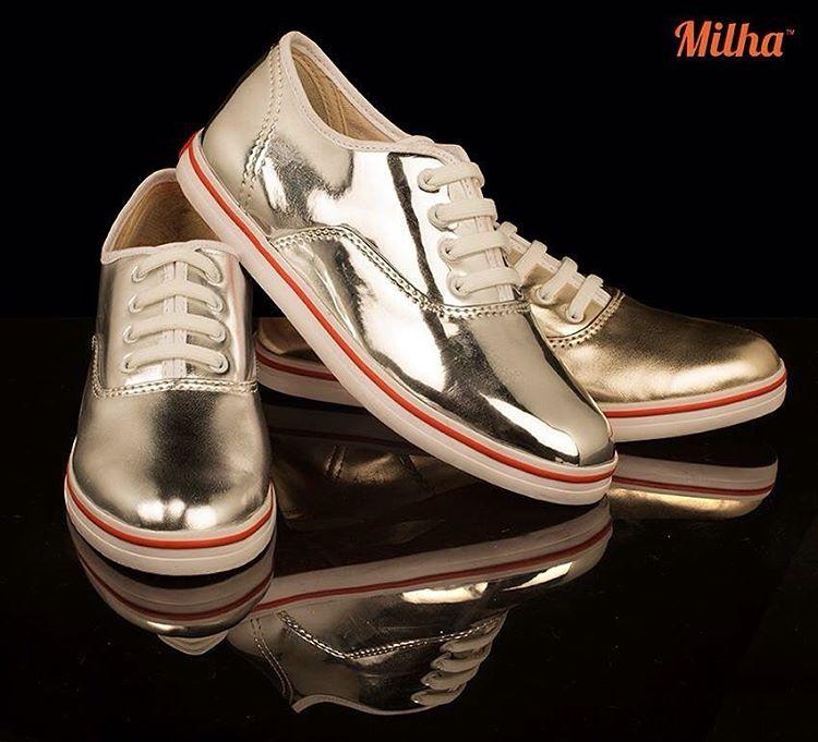 Milha™ Shine!!! El estilo de un zapato y la comodidad de una zapatilla! Made to Enjoy! www.milha.com.ar #milha