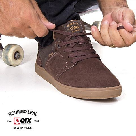 """Pro Model @rodrigoleal """"Maizena"""" desenvolvido para proporcionar conforto, durabilidade e pronto para sessão de skate!"""