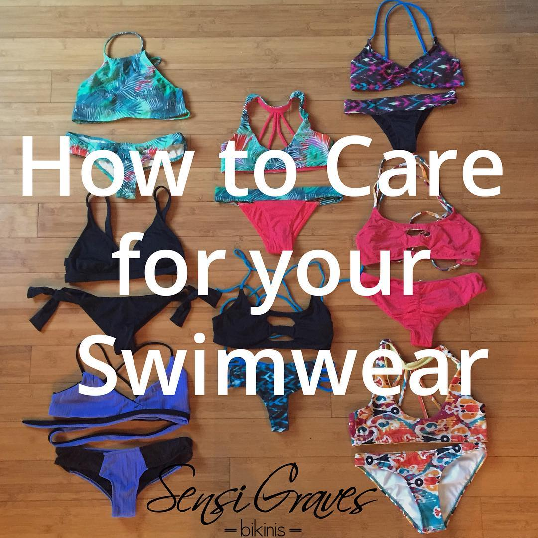 Fresh on the blog: How to Care for Your Swimwear so you can extend the life of your fave bikini!