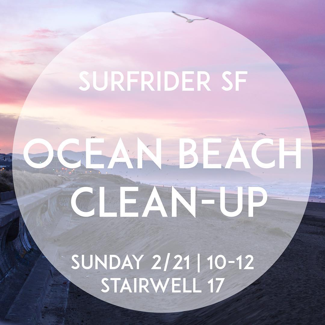 Feel the Surfrider #stoke with us this weekend and #volunteer. #protectandenjoy #saveourcoast #OBSF