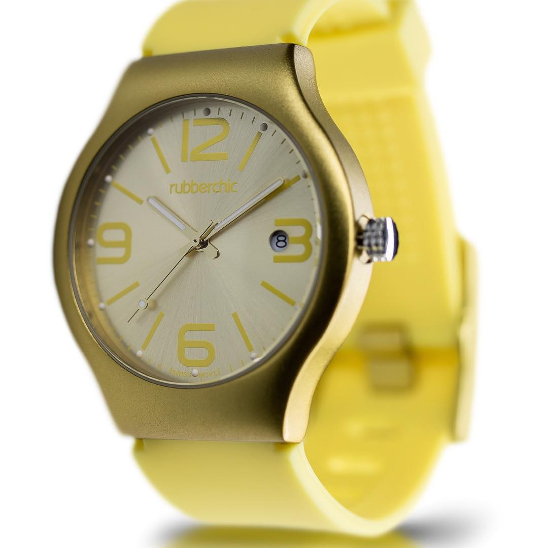 Rubberchic PULSE GOLD #rubberchic #pulse #trendy #shop #swiss #itsrubbertime #fashion