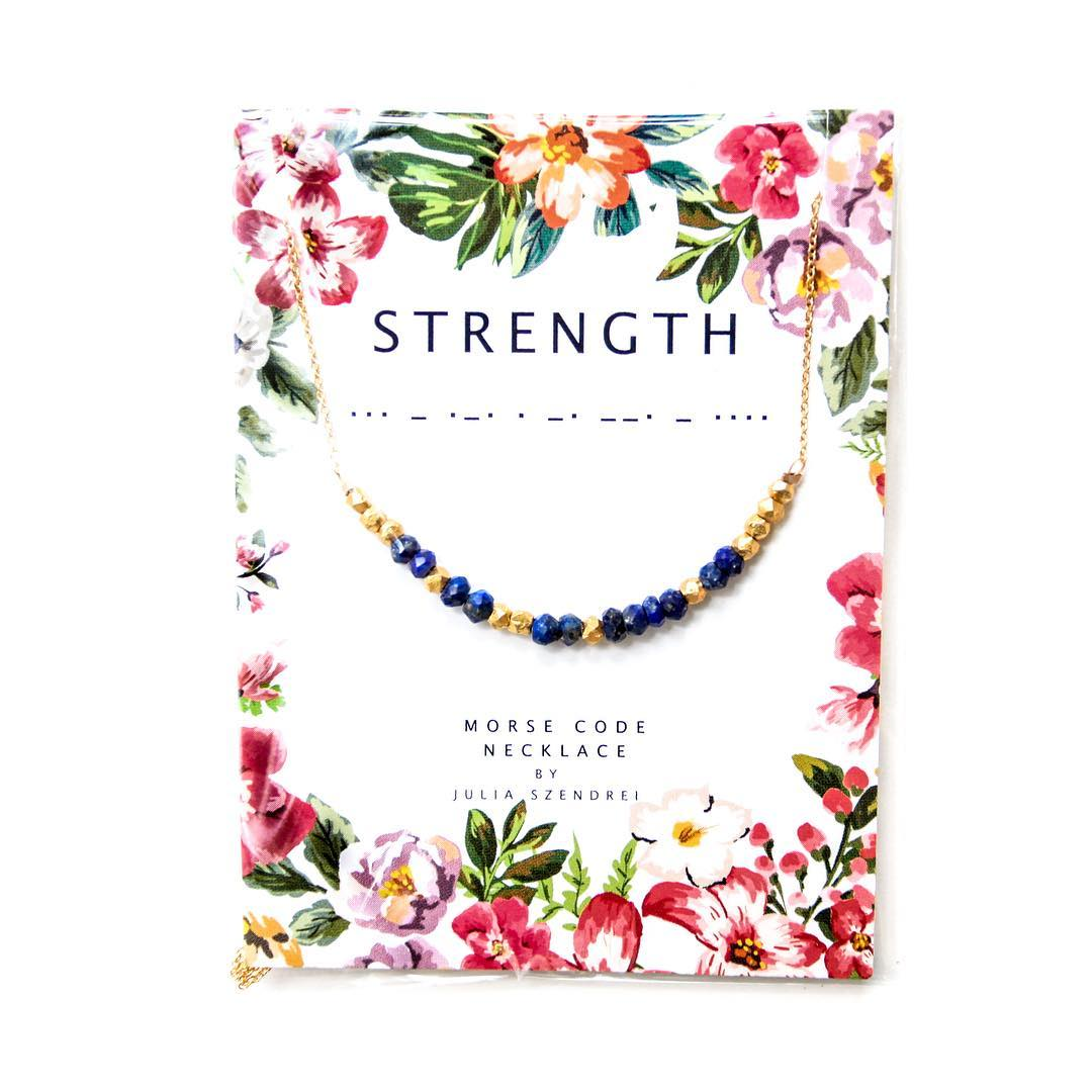Strength, amidst the other tools, is a great quality to practice each day. Little ways like stepping beyond your comfort zones, reaching out and even having the strength to TAKE THE TIME FOR YOUR PERSONAL GOALS is a big deal in the world of...