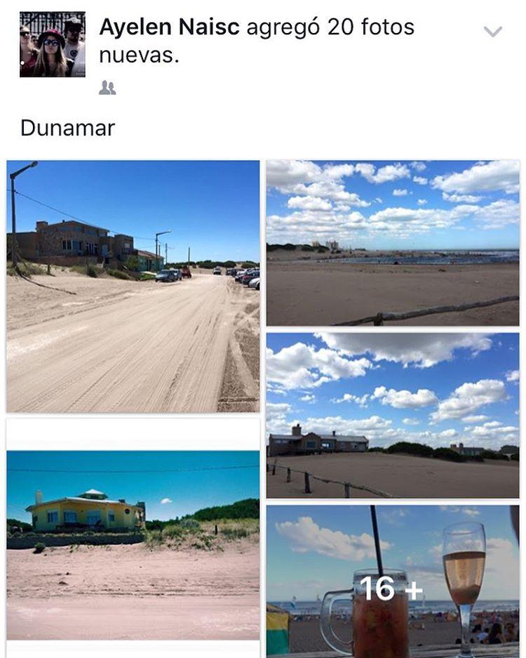 """Es un golpe bajo poner en facebook """"Un dia como hoy"""" y que aparezca que el año pasado estaba en la playa #killmyself"""