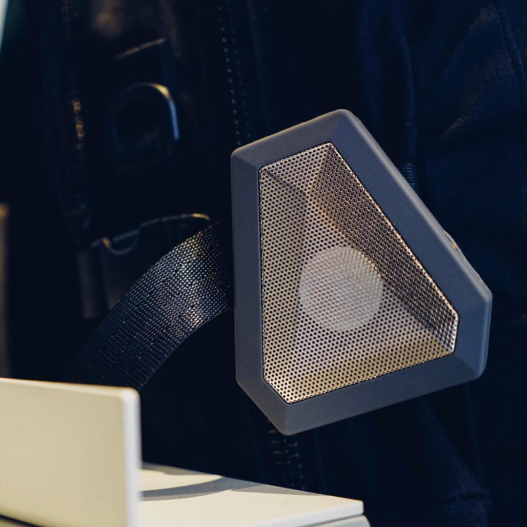 The lightweight Boombot Mini goes to 10.  Use the link in our profile. ∆ #Boombotix  #portablespeaker #bluetoothspeaker #essential #audiophile #design #Soundofthebrave