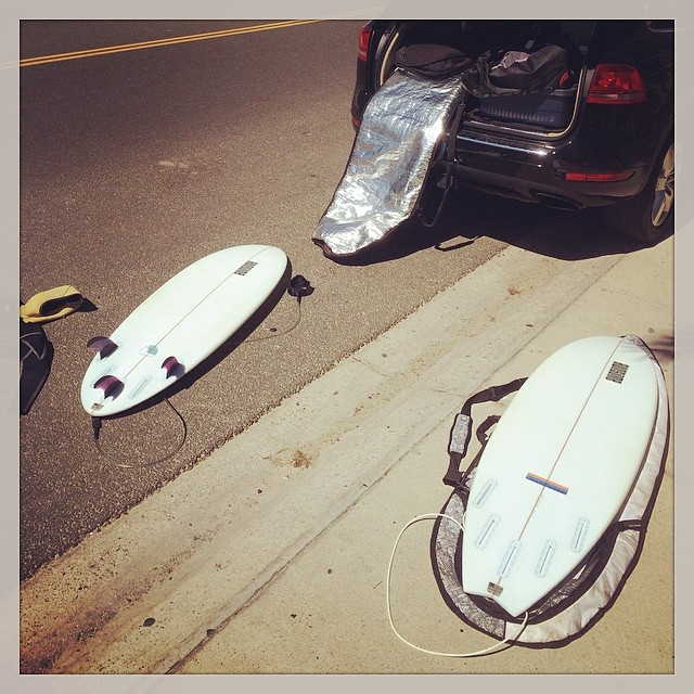 picking the right one. silver strand beach has some punch to it, went with the Cheata (left,  right: PCH ) #awesome #awesomesurfboards #oxnard#silverstrand#PCH