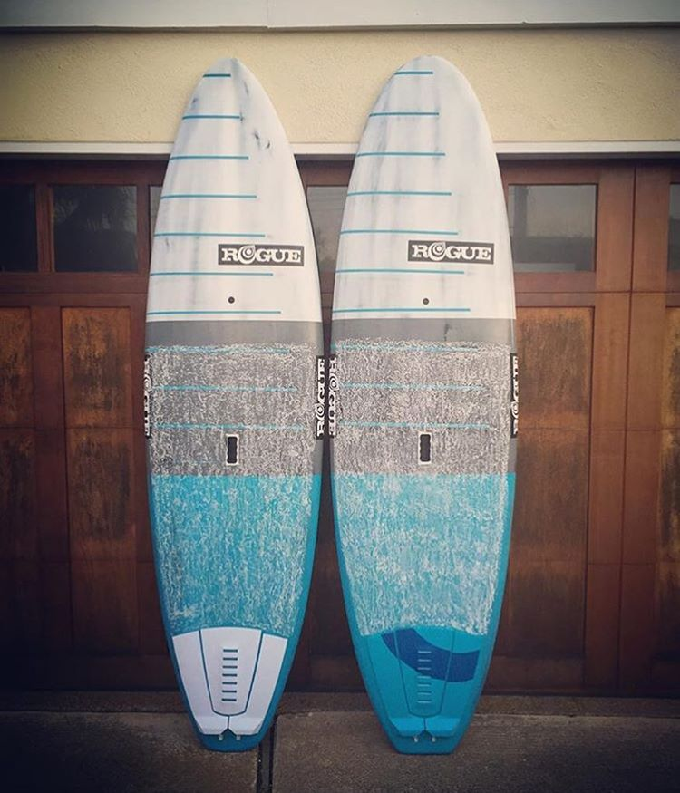 Nothing like a couple freshies to add to the quiver! #roguesup #sup #paddle #standuppaddle