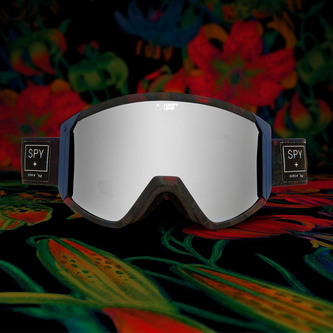 Want to win this SPY + @darrell_mathes Raider snow goggle with #HappyLens?! Tag a friend and head over to @snowboardermag page to learn how!  #SEEHAPPY