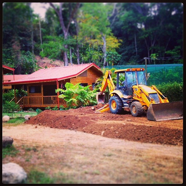 The expansion of our yoga & surf headquarters has officially begun! So much to look forward to!