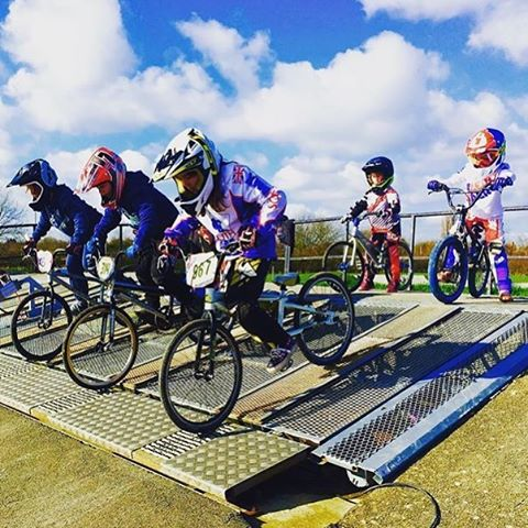 #FanshotFriday #Repost from @voiceoverjen #BMXRace practise at #HayesHawks for the rippers #SixSixOne #661Protection #ProtectFun