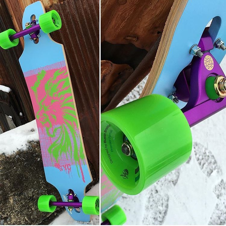this @bustinboards Maestro is looking pretty solid set up with some #caliber50