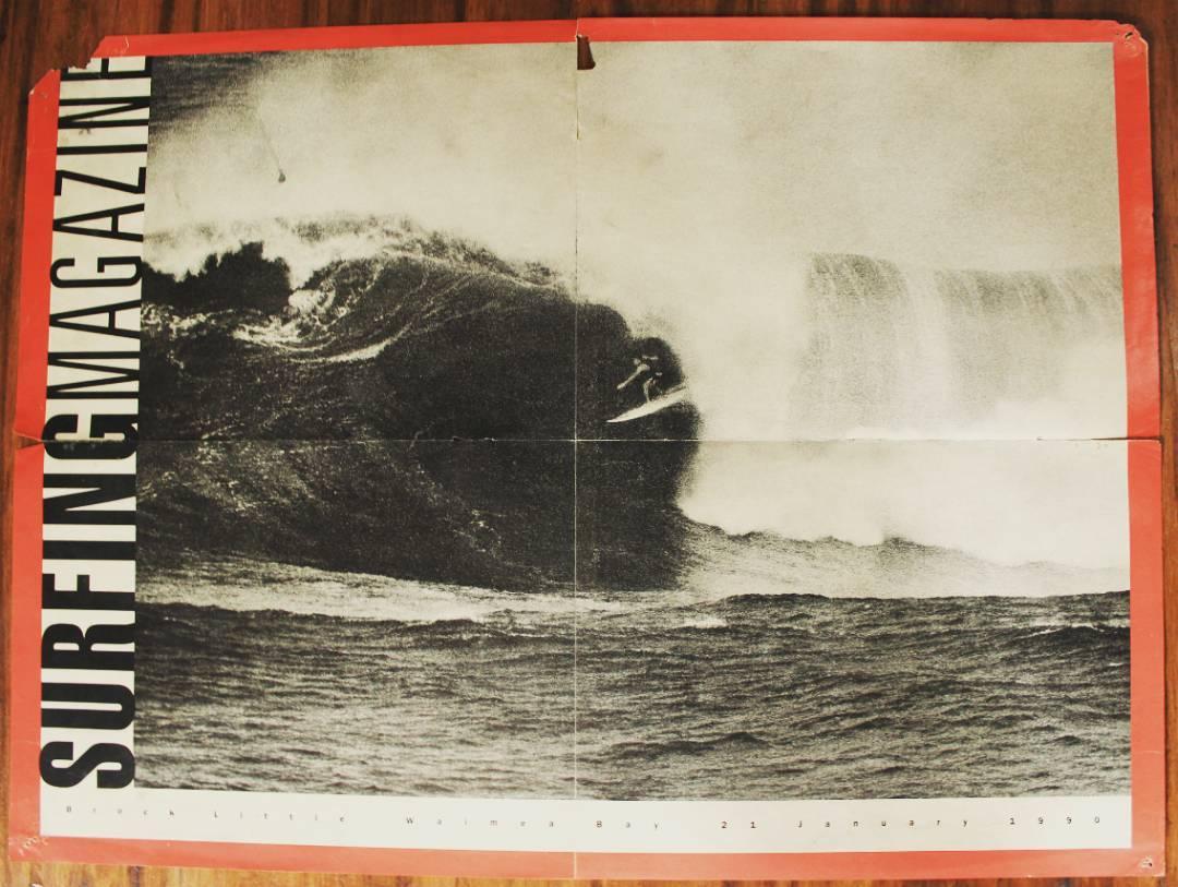 Cambio el surf de ola grande en aquel Eddie Aikau de 1990. Lo que se veia como una locura, desde ese dia se empezo a ver como una realidad. La inspiracion de muchos: Brock Little, leyenda enterna del surf.