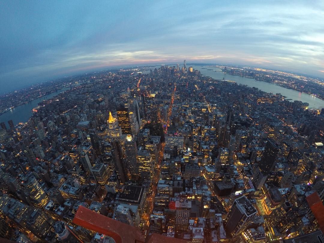 #GoPro Featured Photographer: @filmbot  About the shot – One of the really cool things about working at GoPro is the projects we all get to be a part of. In this case I was on a special project high up in the #EmpireStateBuilding shooting a 48-hour...