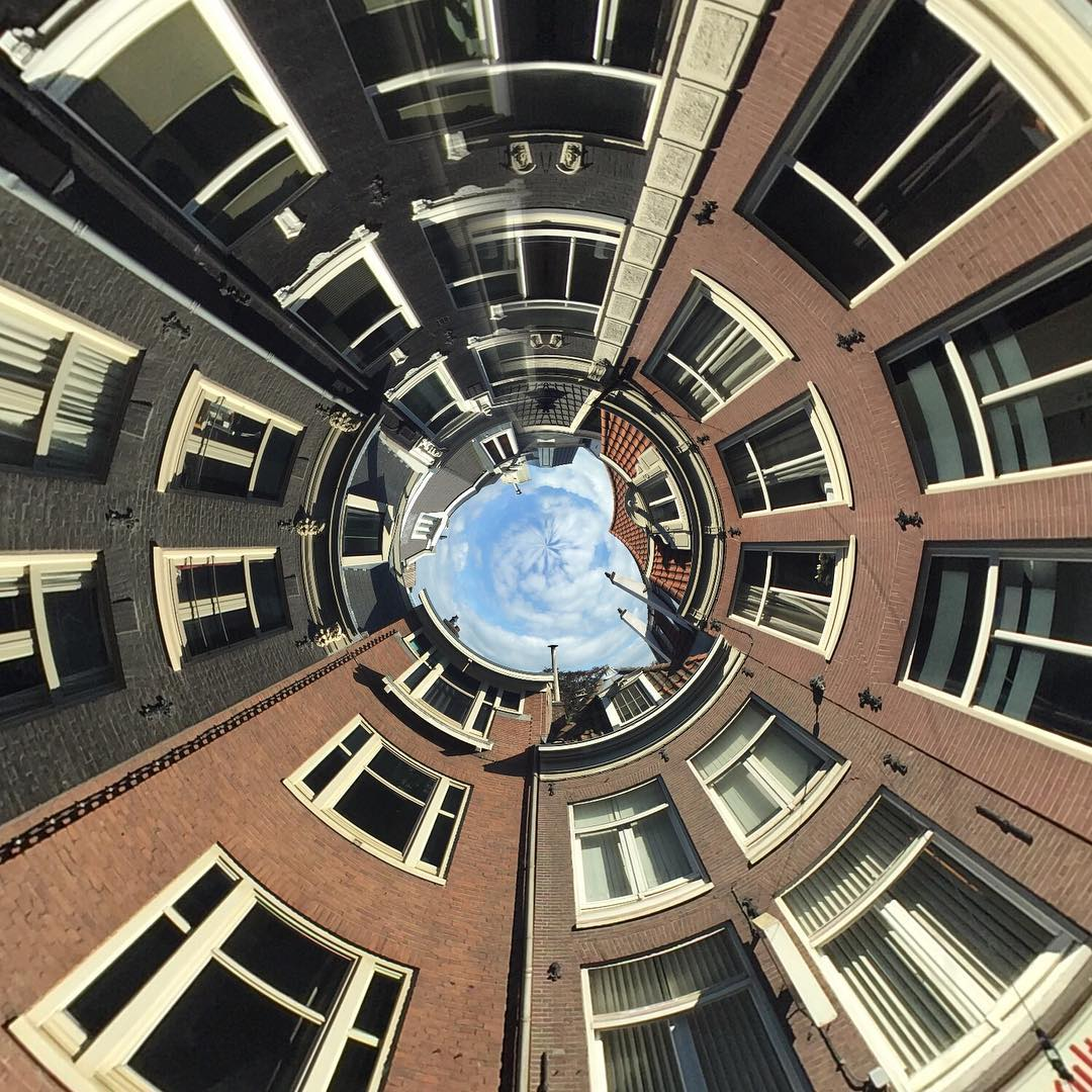 #GoPro Featured Photographer - @filmbot  About the Shot: Amsterdam Spherical – #Amsterdam is one of my favorite cities in #Europe to visit because of the architecture. Its canal ring houses are iconic with some recognizable characteristics like being...