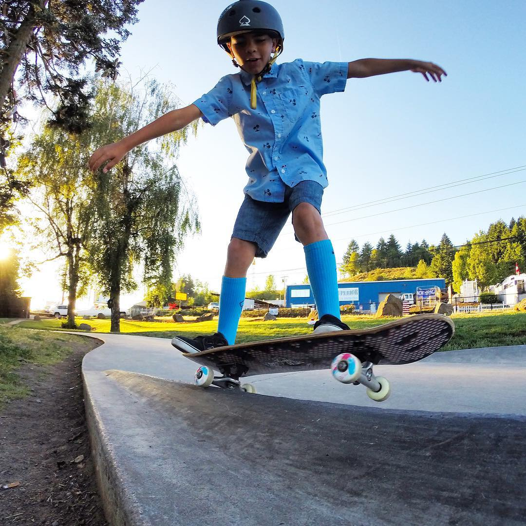 #GoPro Featured Photographer - @filmbot  About the Shot: Dad and Son Skate Day - My son and I #skateboard together as much as we can. One of our favorite spots in SE Portland is Ed Benedict Skate Plaza. Gavin had be learning 5-0 grinds and he wanted to...