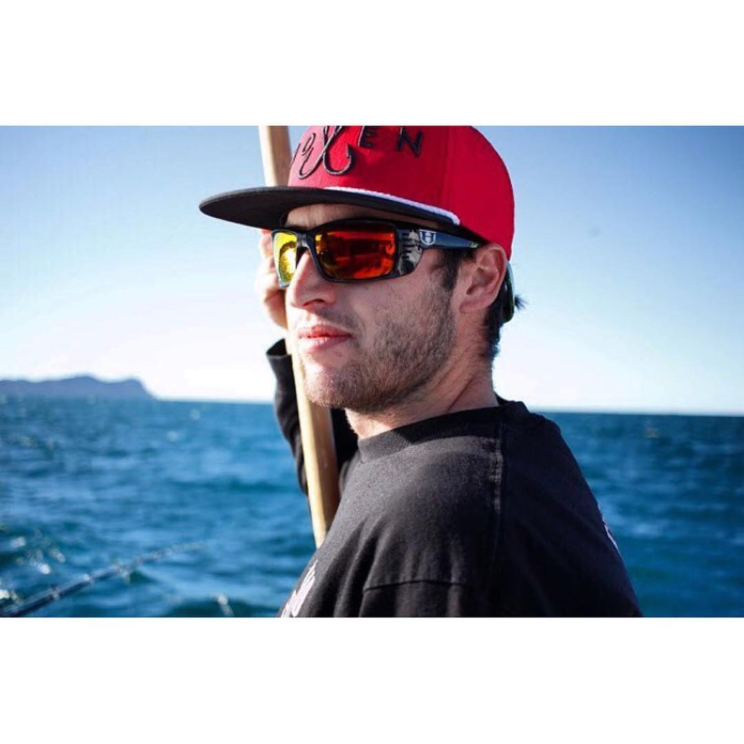 \\ Seek and Destroy // @hovenvision waterman @jarreddavidson_  looking fierce in the Meal Ticket shades. These floatable sunglasses come polarized and have vents on both sides of the frame to help with those long days in the sun. Available at...