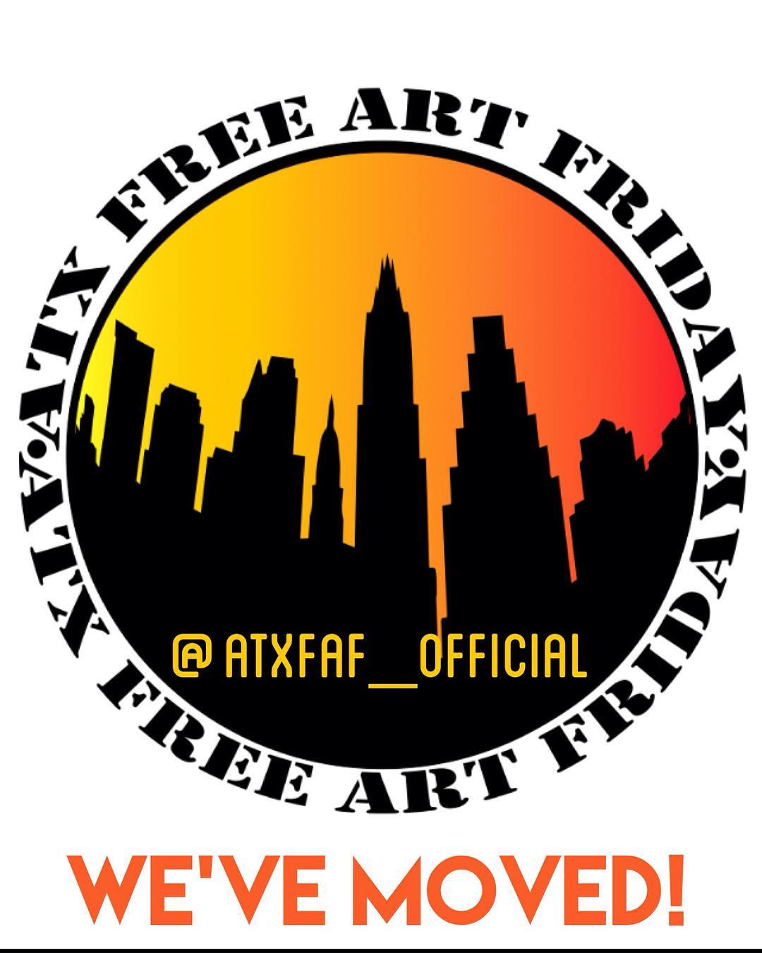 @atxfaf_official new account for all things #atxfreeartfriday !!!