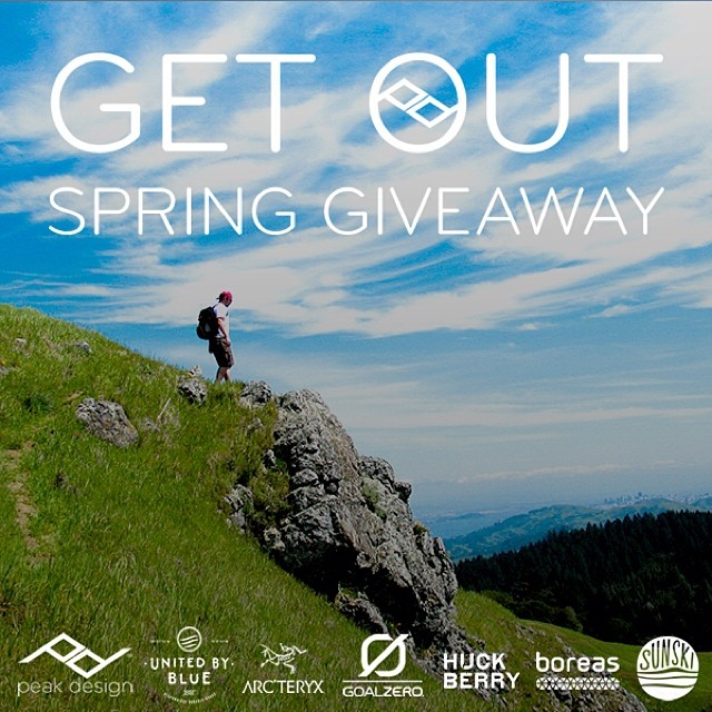 It's on! This week only, sign up to win a pile of gear from some renowned outdoor brands. Sign up here: bit.ly/pdspring