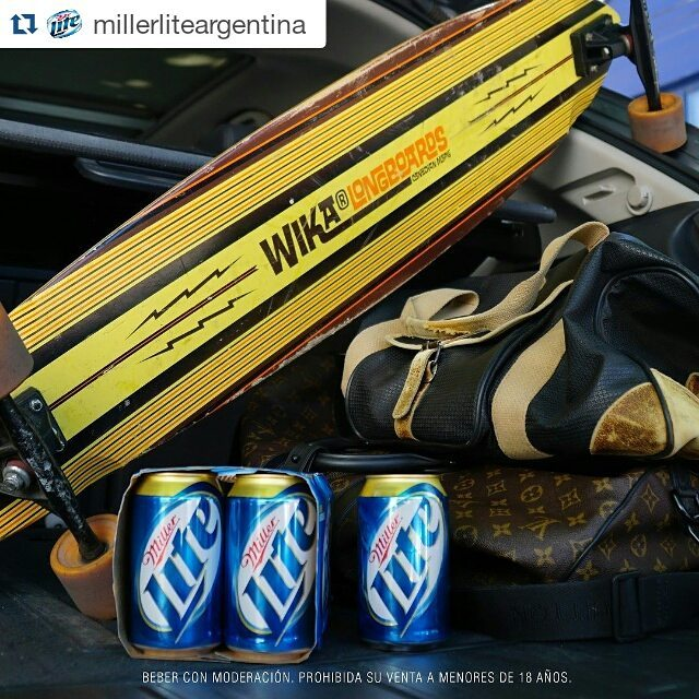 Los amigos de Miller saben muchooo y sacaron a la cancha para este finde una Wika de las primeras súper clásica... #Repost @millerliteargentina ・・・ Scape from reality #ItsMillerTime