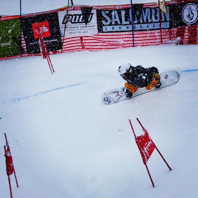 #A7Renegade @sethwescott begins his journey through the Legendary Mt Baker Banked Slalom course. Stay Low Be Powerful! #lbs30 #avalon7 #liveactivated #snowboarding @wintersticksnowboards @llbean www.avalon7.co