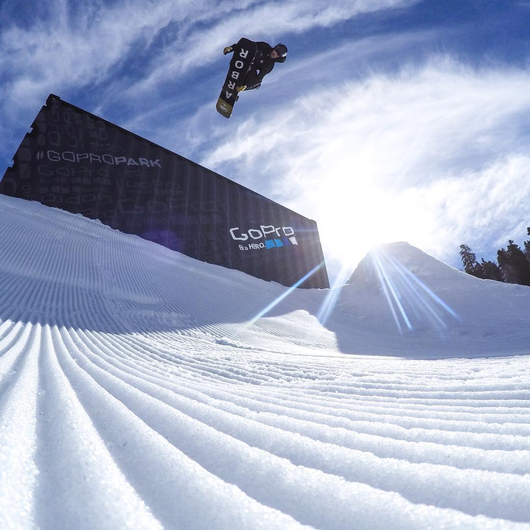 @scottyvine putting in work on the #GoProPark at @bear_mountain! If you're at #BearMountain, hit up the park and snap some bangers! Are you getting it this weekend? Then show us via #GoProAwards link in our bio. #