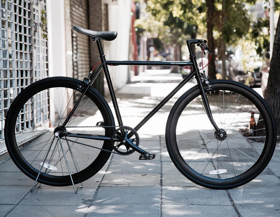 Max full black! Talle 54cm.#monochromebikes #ilovemymonochrome