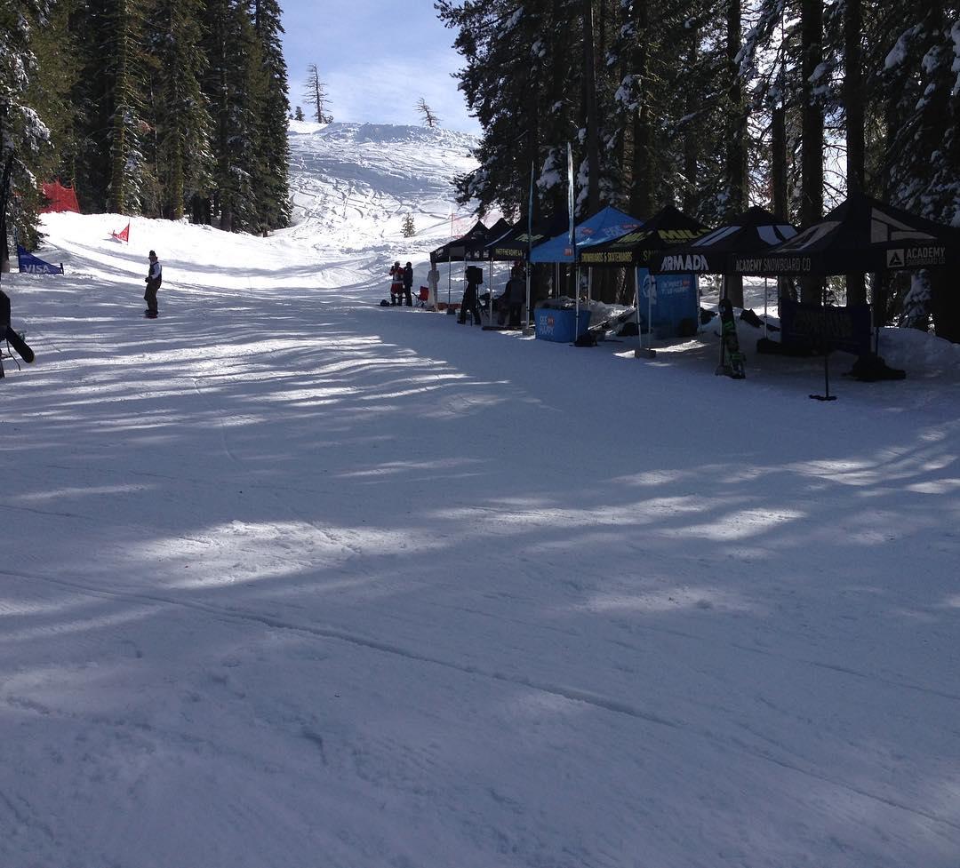 2nd annual @borealmtn banked slalom was a success!! #bankedslalom