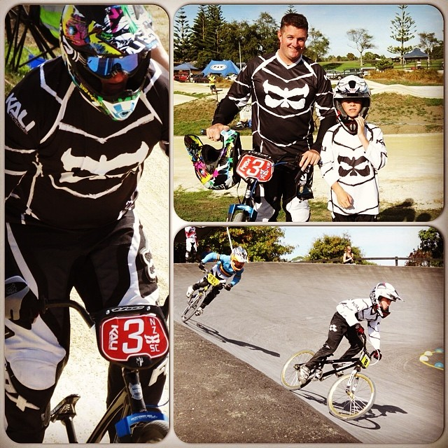 Great racing last weekend by both team members James and Bevan at the Mountain Raiders BMX Race! James came in 1st place and Bevan came in 4th, awesome job guys! #kaliprotectives #kalihelmets #kaliathletes #bmx #avatar2carbon
