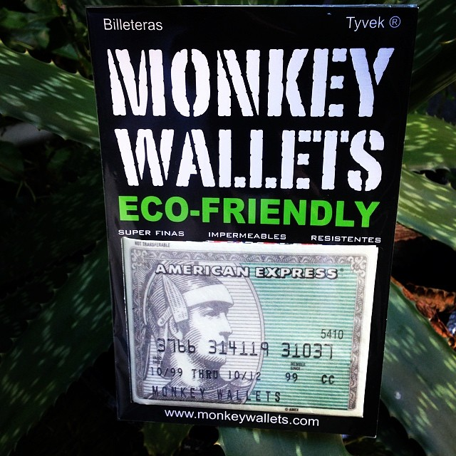 #monkeywallets #amex #tyvek #wallets @monkeywallets