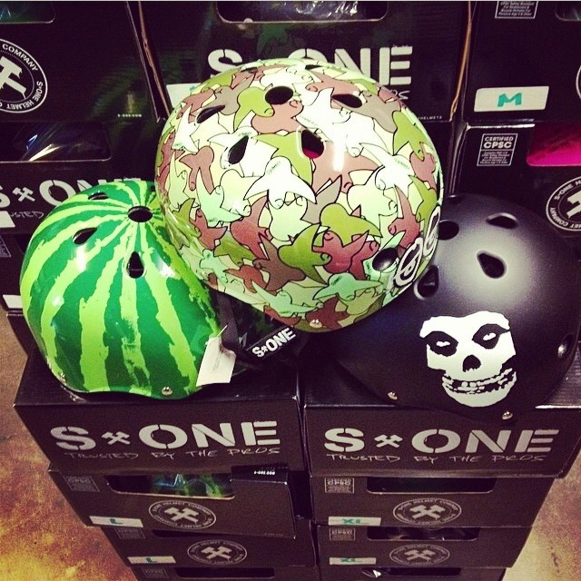 @skatelab fully stocked with #s1helmets ! #getsome #skateboarding #skatelab #skatepark