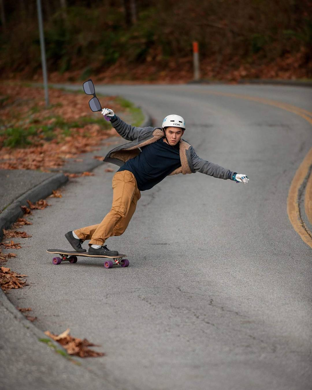 @AlexGibbison sets up for a nollie lazer flip while trying to perfect his @Liam_lbdr_ raptor arms impression. @b1rad snap