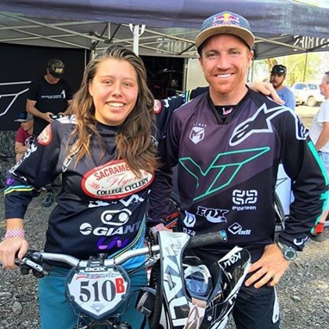So cool to see our girl @skingshill take the win in the pro class at Fontucky alongside this random! |