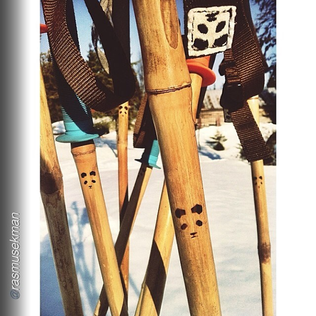 "Repost from Panda athlete Rasmus Ekman: ""The tribe is growing."" -@rasmusekman  #pandatribe #magicskiwands"