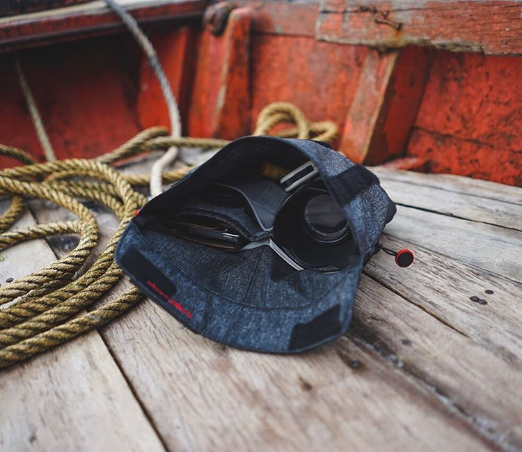 The Field Pouch getting it done on the deck of a boat in Vietnam.  #peakdesign #thefieldpouch #findyourpeak