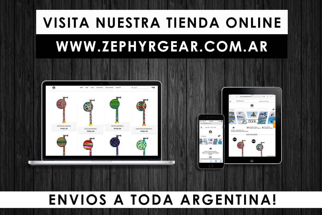 Que esperas para pedir tu #ZephyrPole? Ingresa ya a nuestro #ShopOnline! Hacemos envíos a todo el país!