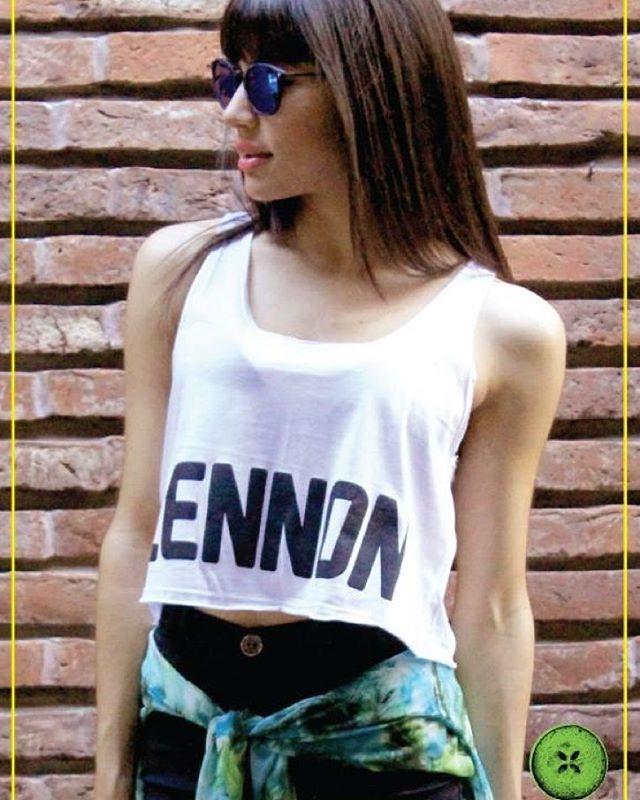 Perfecto día para tu crop top #Lennon! ☀️☀️☀️ #Pepino