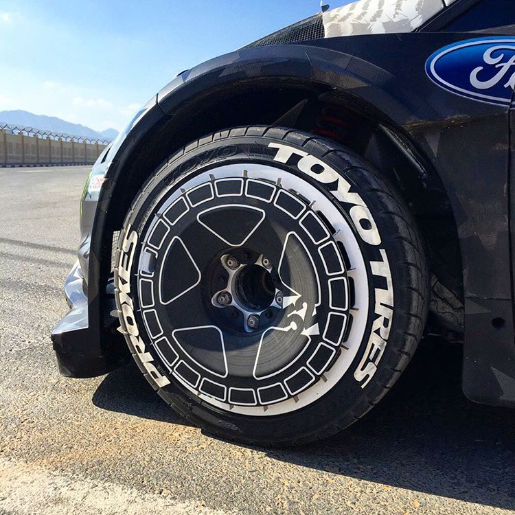 I'm really, really stoked about this new sponsorship with @ToyoTires, starting this year. I used their R1R UHP street tire throughout the entire filming of Gymkhana EIGHT (launching on 2/29/16), and they worked flawlessly. Plus, they look dope! Oh, and...