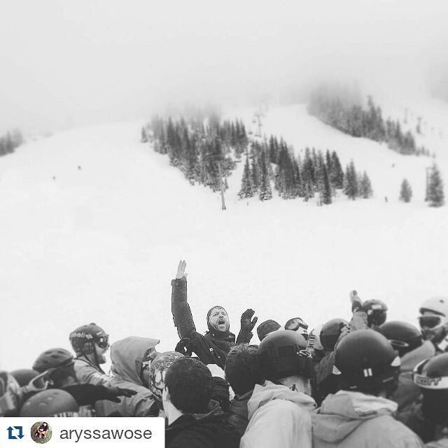This is a #regram from @aryssawose who witnessed the first program day at @whitepass last Sunday! Awesome pic for an awesome day.