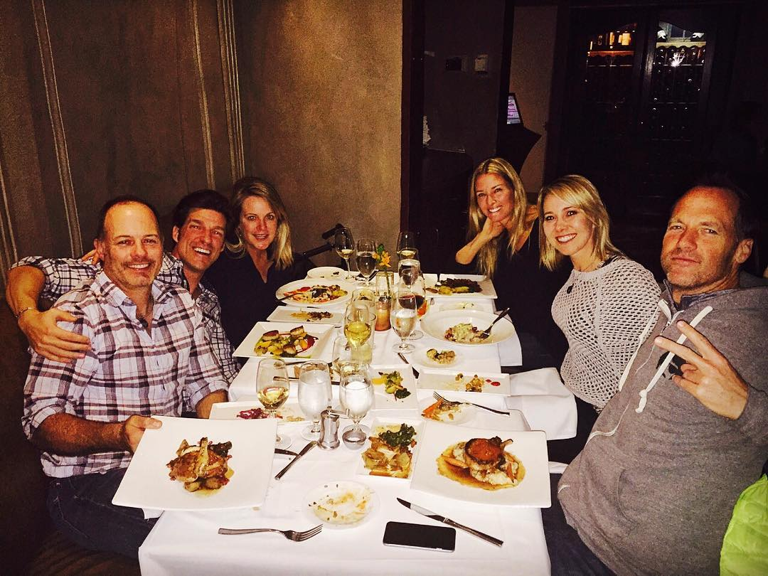 #SquawValley rocks... Thinking back to an amazing dinner, with incredible friends, last week at the @plumpjackcafe in the @pjsquawvalleyinn.  @shawnakorgan & I are still smiling from this epic memory.  Somewhere above the laughter and great...