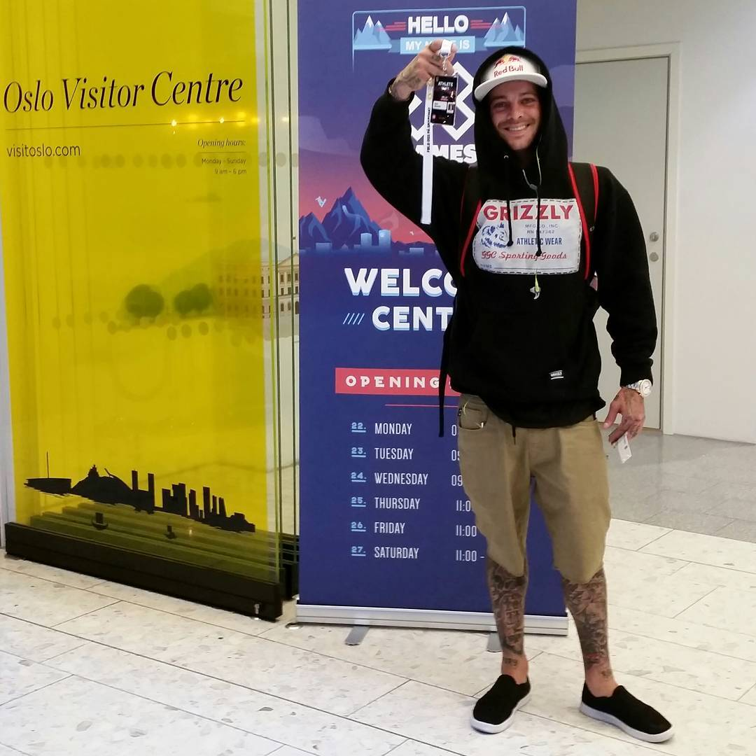 Three-time gold medalist @Shecks has arrived at #XGamesOslo!