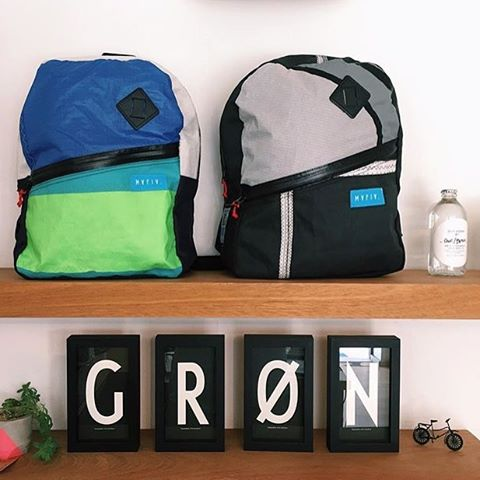 Our friends @______gronlifestyle______ leaving a mark in #PuntadelEste //Together with amazing bicycles, you can find all our bags in their three locations ! #fromsailstobags #mafiabags #fixie #gron