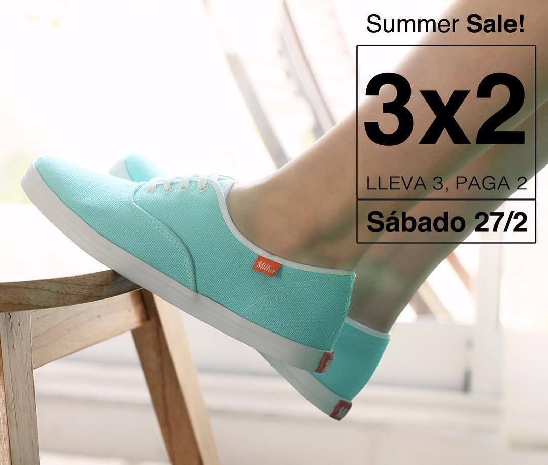 SUMMER SALE! Sábado 27 de febrero de 11 a 18 hs! Showroom Milha™: Charcas 5258 Of. 502 (Palermo). Llevate 3 y pagá 2! Efectivo y MercadoPago. Te esperamos! Made to Enjoy! #milha #summer