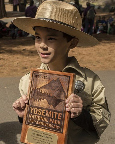RANGER GABRIEL IS A PARK CHAMP Go to our field notes blog to see the incredible video. Make-A-Wish Central California and the National Park Service granted Gabriel's wish to be a park ranger in Yosemite National Park. Gabriel, who has Ehlers-Danlos...
