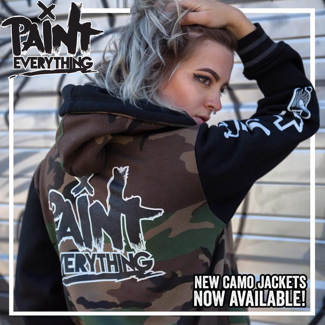 Get on that new new. • • Perfect for today's weather!! Limited edition. • • #SprATX #officialclothing #painteverything #graffiti #grafite #streetart